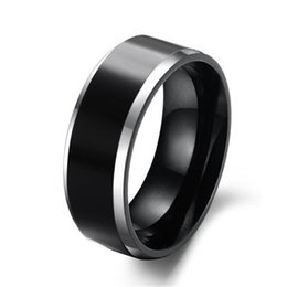 Wholesale Mens Comfort Fit Ring - 2016 Hot Sale in Brasil 8MM Mens Tungsten Carbide Wedding Engagement Band Ring Comfort Fit Big SZ 7-11 Alliance Bridal Jewelry TU003R