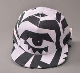 Wholesale Casquette Snapback Eye - Fashion Eye Snapback Caps Summer Hip Hop Casquette Baseball Cap Snapback Hat For Men Women Hot