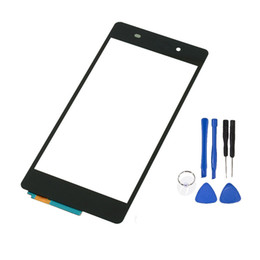 Wholesale Xperia Screen Replacement - for Sony Xperia Z2 Touch glass Front LCD Outer Glass Screen + Open Tools Replacement parts replace repair New Free Shipping