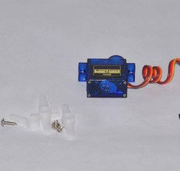 Wholesale Rc Helicopter Gears - 4 pcs   lot Mini SG90 RC Micro Servo 9g 450 Airplane Helicopters Aeromodelling Steering gear Accessories