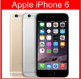 Wholesale 16gb 8mp - Unlocked Original 4.7''5.5''iPhone 6 Plus Dual Core 1GB RAM 16GB 64GB 128GB ROM 8MP 1080p Multi-Touch WCDMA 4G LTE Cellphone without Touch
