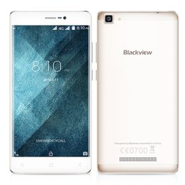 """Wholesale 4g Chinese Phones China - Quad Core MTK6737 Blackview A8 Max 4G 5.5"""" 1.3GHz Cellphone Android 6.0 HD Smartphone 2GB 16GB 3000mah original china Phone"""