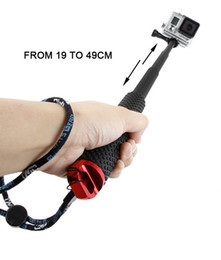 Оптовая 19-дюймовый motion camera телескопическая ручной Selfie палка Selfiestick для спортивной камеры от