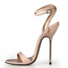 Wholesale Sexy Cloth Sales - hot sale 2017 new fashion sexy strappy summer ultra high heels party wedding pumps women gladiator stiletto sandals tenis feminino 35-43