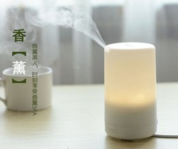 Wholesale Candle Diffuser Oil - High quality USB ultrasonic steam aroma diffuser fragrance candle lamp,essential oil diffuser,beauty salon difusor de aroma unique gift DHL