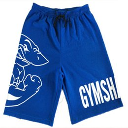 Wholesale Bodybuilding Shorts - Wholesale-2016 Summer New Brand Gym Shorts for Men Bodybuilding Basketball Running and Sports Beach Shorts High Quality
