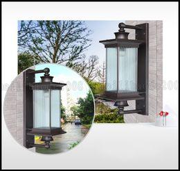 Wholesale Luxury Light Switches - European Waterproof Garden Wall Lamp Outdoor Lights Balcony Lights Luxury Villa Lighting Aisle Lamps