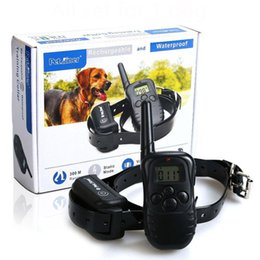 Wholesale Electronic Remote Dog Training Collar - Waterproof and Rechargeable Electronic Shocking Vibration Remote Dog Training Collars Electric Pet training collars Pet Trainer