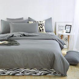 Wholesale zebra bedding king - Wholesale- New style solid colors and zebra pattern design,3pcs 4 pcs bedding sets bed sheet bedspread duvet cover flat sheet  pillowcases