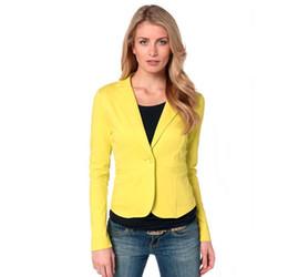 Wholesale Polka Dot Coat Women S - Women's Jackets Fall Blazer Women Suit blazer Foldable Brand Jacket Ladies Hot Stylish Comfortable 3 Solid Color Clothing OL Coats Female