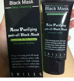 shills deep cleansing black mask Coupons - 2019 SHILLS Deep Cleansing Black MASK 50ML Blackhead Facial Mask