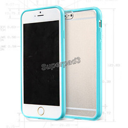 Wholesale Iphone Ultrathin Case Frosted - Ultrathin TPU+PC matte Candy Color Frosted case cover for iphone 6 6s plus 100+ pcs DHL