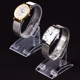 Wholesale Clear acrylic Bracelets Wrist Watch Displays Rack Holder Show Case Stand Tool Plastic Display