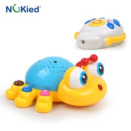 Wholesale Read Machine - NUKied Newborn Baby Magic Musical Projector Sleeping Baby Toy Early Education Music Lights Creative Gift Kids Bed Bell Toys