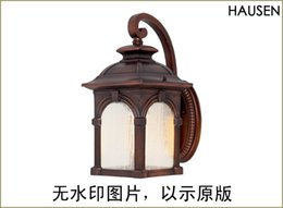 Wholesale Chinese Touch Lamps - Free shipping Chinese style style outdoor wall lamp The courtyard garden villa corridor corridor balcony in front of the lamp