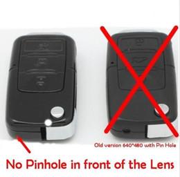 Wholesale Hidden Camera Quality - 720P Car Key Chain Hidden No Pinhole Conceal Camera Audio Video Recorder DVR High Quality Freeshipping