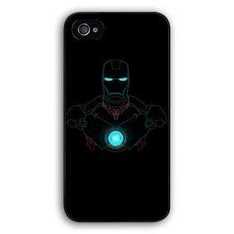 Wholesale S4 Iron Man - Wholesale-Comic Marvel Avengers Iron Man for Samsung Galaxy s2 s3 s4 s5 mini s6 edge plus Note 2 3 4 5 iPhone 4 5s 5c 6 6s Plus iPod 4 5 6
