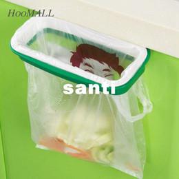 Wholesale Garbage Bag Storage - Hoomall Brand Rubbish Bag Storage Rack Hanging Kitchen Cupboard Door Back Stand Trash Garbage Bags Storage Rack Bag Clip