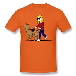 Cane arancione t-shirt online-Maglietta da uomo Maglietta da uomo Maglietta da donna e da cane Maglietta da uomo Maglietta da uomo di colore arancio Camicia da uomo di colore bianco