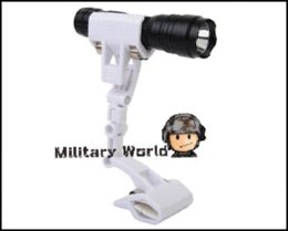 Wholesale Tactical Flashlight Clamp Holder - Five Colors Multifunction Tactical Outdoor Convenient 360 Degrees Rotation Bicycle Mount Holder Flashlight Clamp Mount Holder
