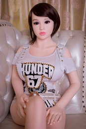 Wholesale Solid Silicone Doll Cheap - New 158cm sex dolls toys top quality factory cheap price full silicone female sex doll life size for man with free shipping