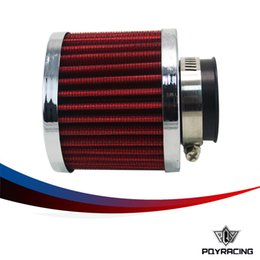 Wholesale Air Breather - PQY RACING- Auto Air filter height 85MM, Neck ID:35mm Car Cone Cold Air Intake Filter Turbo Vent Crankcase Breather PQY-AIT22