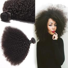Дешевые продажи 7а монгольский кудрявый вьющиеся волосы 3 переплетения пучки афро кудрявый вьющиеся волосы продукты человеческих волос расширения от