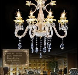 Wholesale Luxury Chandeliers For Dining Rooms - 2016 Luxury K9 Crystal Chandelier 6 8 10 Arms for dining room shop Living Room Lights home indoor Lamp Lustres De Cristal Chandeliers