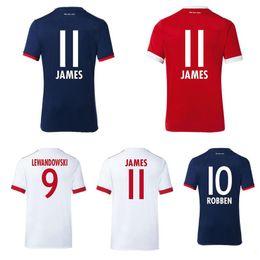 Wholesale Free Style Soccer - Player Style 17 18 Bayes Munches soccer jerseys JAMES ROBBEN football shirt 2017 2018 LEWANDOWSKI jersey camisas de futebol Free Shipping