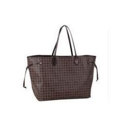 Wholesale Large Brown Hobo - Brand new quality women shoulder bags Large tote shopping handbag tote satchel Retro messenger bag 3 color 2 Size pic