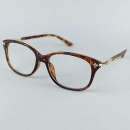 intarsi in plastica Sconti Telaio per occhiali da vista in metallo per donna
