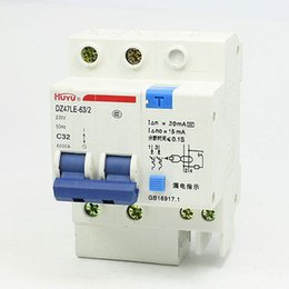 Wholesale Earth Leakage - Wholesale-AC230V 32A 2Pole Overload Protection ELCB Earth Leakage Circuit Breaker