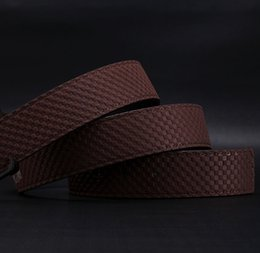 Wholesale Bussiness Casual - Brand Designer Belts Men High Quality Two sided use Cowhide Fashion Leather Buckle Men Belt Luxury Bussiness Casual