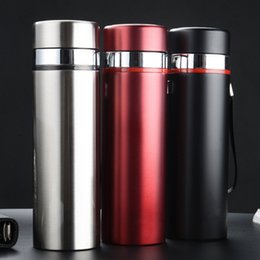 Wholesale Thermo Bottles Wholesale - 2016 Stainless Steel Water Bottle Insulated Vacuum Bottle High Luminance Water Bottle 500ml Creative Thermo Bottle VS Vaccum Cup