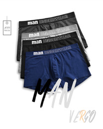 Wholesale Mens Hot Underwears - 2017 hot sale Mens Underwear Cotton Boxers Underpants Breathable Boxer Shorts Men Panties Sexy Male Underwears cueca masculina