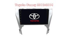 Wholesale Camry Dash - D90-9002 For Toyota Camry2012-2014 Car dvd Android 4.4 GPS Car Navigation Player With WIFI 10. 1 Inch Capacitive Screen GPS + FM AM Radi