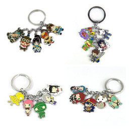 Wholesale Toy Man Women - Hot!10Set Mixed Anime Game League of Legends keychain Zinc Alloy Keyrings Metal Cute Figures pendants Game model Cosplay toy Collection