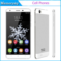 Wholesale Cheap Digital Video - Original OUKITEL K6000 MTK6735P Quad Core 5.5 Inch 4G LTE Smartphone 6000mAh 2GB+16GB 13.0MP camera GPS cheap new