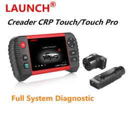 Wholesale Online Connector - Customized Launch Creader CRP Touch Pro  CRP Touch Full System Diagnostic EPB DPF TPMS  Service Reset  Golo  Wi-Fi Update Online