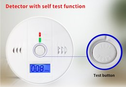 Wholesale Fire Safety - NEWCO Carbon Monoxide Tester Alarm Warning Sensor Detector Gas Fire Poisoning Detectors LCD Display Security Surveillance Home Safety Alarms