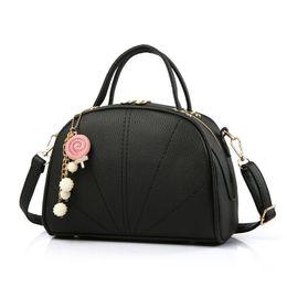 Wholesale korean style lady hobo handbags - Korean Style Brand New PU Leather Handbag Clutch Hobo Purse Shoulder Cross Body Bags Women Lady Sling Bag Tote GLB062