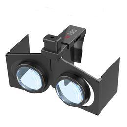 Occhiali 3D pieghevoli portatili Occhiali 3D realtà virtuale Occhiali pieghevoli ultraleggeri con otturatore sottile per realtà virtuale Smartphone per iPhone da vedendo gli occhiali all'ingrosso fornitori