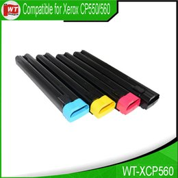 Wholesale Xerox Color Toner - Xerox XCP560, Compatible Toner Cartridges for Xerox Color Printers 550 560 570; 006R01525 006R01526 006R01527 528