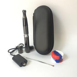 Tropfspitzen-sets online-1 sätze Puffco Vaporizer Skillet 2 Zerstäuber Quarz Wachs Verdampfer mit Dual Quarz Spule Metall Farbe Metall Tropfspitze für 510 gewinde batterie