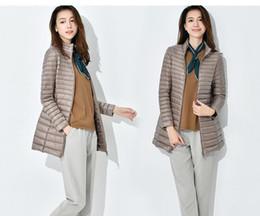 Wholesale Thin Down Coats For Women - Women Winter Jackets 2017 New Korean Ultra Light Duck Down Coat Slim Portable Female Winter Coat Warm Down Jacket for Women