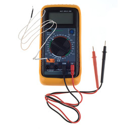 Wholesale Frequency Tester - New Digital Multimeter Volt Amp Diode Ohm Frequency Test Capacitance Tester B00343