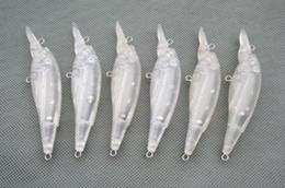 Wholesale Unpainted Bodies - PCS20 UNPAINTED FISHING LURES JOINTED CRANKBAIT BODIES 11.7g