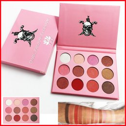 Wholesale Dark Shadows Makeup - New Makeup FBK DARK Fredom Eyeshadow palette Pressed Powder 12color Eye Shadow Matte & Shimmer Palette High quality FBK Cosmetics free DHL
