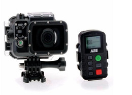 Wholesale portable rock - AEE S71 HD 4K 2.7K 1080P Portable Sports Camera 100m Waterproof 12X Digital Zoom w  32G TF Card