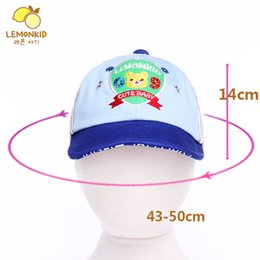 Wholesale Basball Caps - Mixed 4 Colors Unisex Chilrens Hats For Spring&Summer Bayby Boy Gilrs Cap Basball Hats UV Protect DHL Free